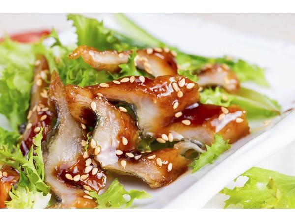 日本急凍壽司燒慢魚片 - 8G