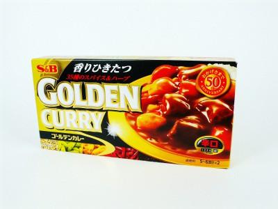 日本咖喱磚[辛口]-198G