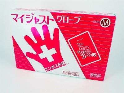 日本盒裝膠手套M[盒裝]-200PC