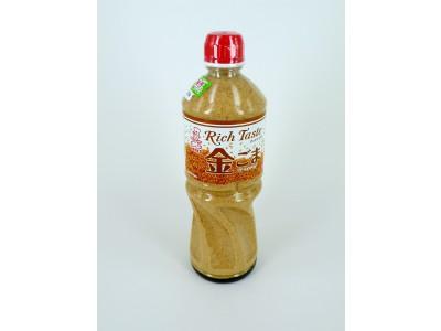 日本KENKO粗挽金芝麻沙律汁-1L